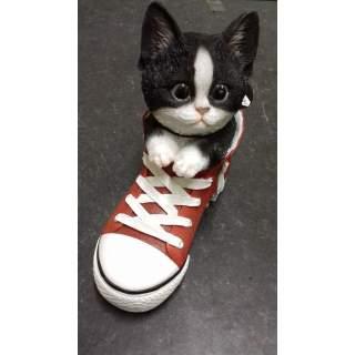 B/W Kitten Sports Shoe PP