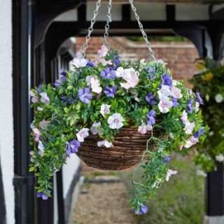 Artificial Hanging Basket Petunia
