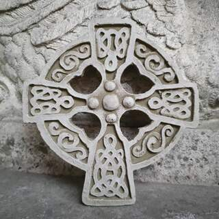 Celtic Cross Plaque A