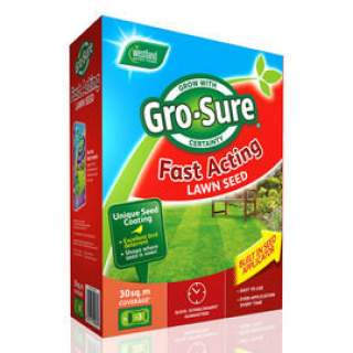 Lawn Seed Fast Acting 10m + 30%