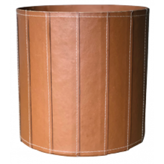 Pot Cover Helsinki Ver. Tan 13cm