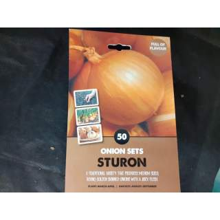 Onion Sets Sturon