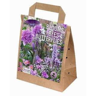 Blooms, Bees & Butterflies Pink