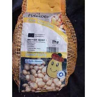 Seed Potato 2kg British Q