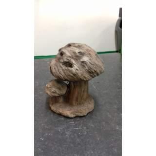 WoodLife Toadstool Bropwn Sm
