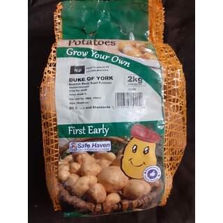Seed Potato 2kg Duke of Y