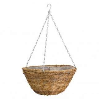 "14"" Country Rattan Basket"