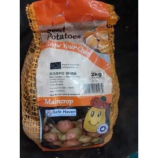 Seed Potato 2kg Sarpo Mira