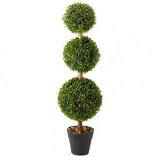 Trio Topiary Tree 80cm