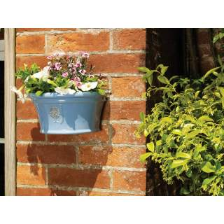 Wall Pot Glazed 20cm