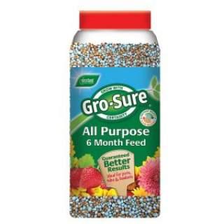 Gro-Sure Slow Release Granules 1.1kg+50% ex f